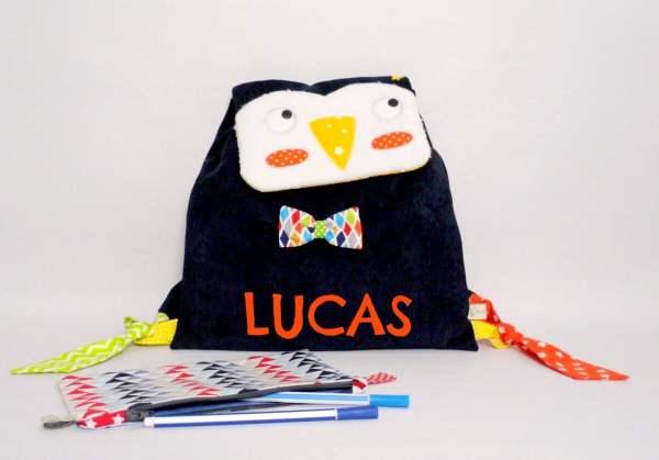 sac-maternelle-pingouin-personnalisable-prenom-lucas