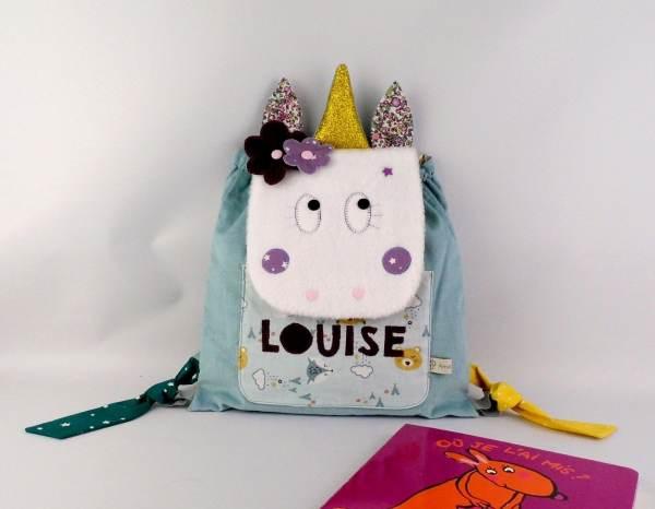 sac-a-dos-fille-licorne-personnalise-louise-bleu-prune-violet-mauve