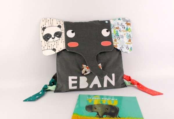 sac-a-dos-bebe-personnalise-prenom-eban-sac-elephant-cadeau-naissance-bapteme