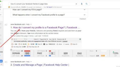 a Facebook fan page