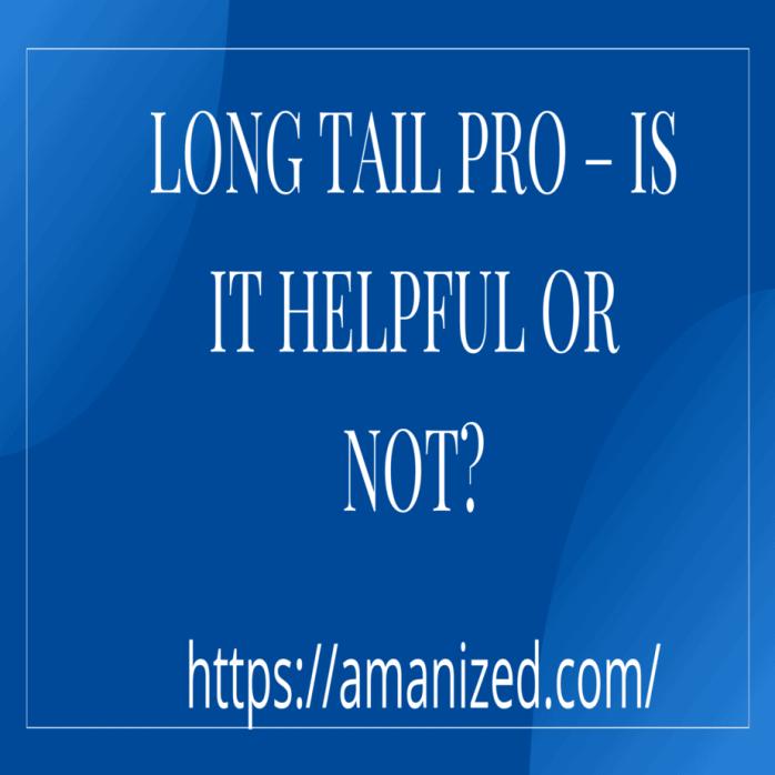 Long tail pro lifetime deal