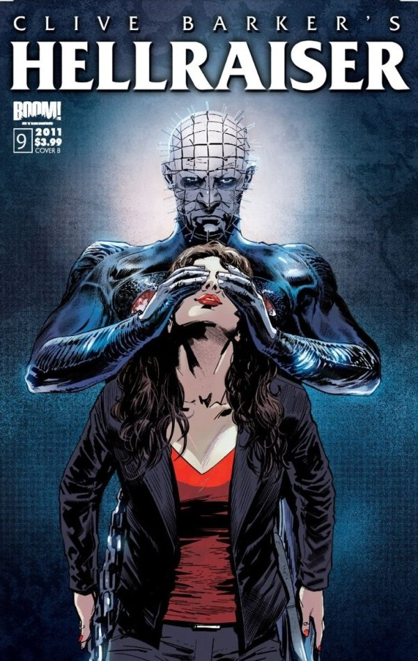 Pinhead shielding kirsty cotton's eyes