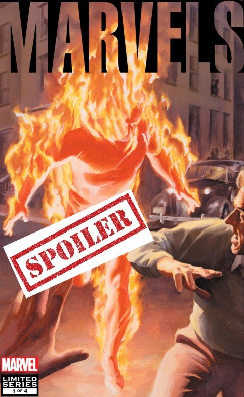 marvels comic book summary and spoilers