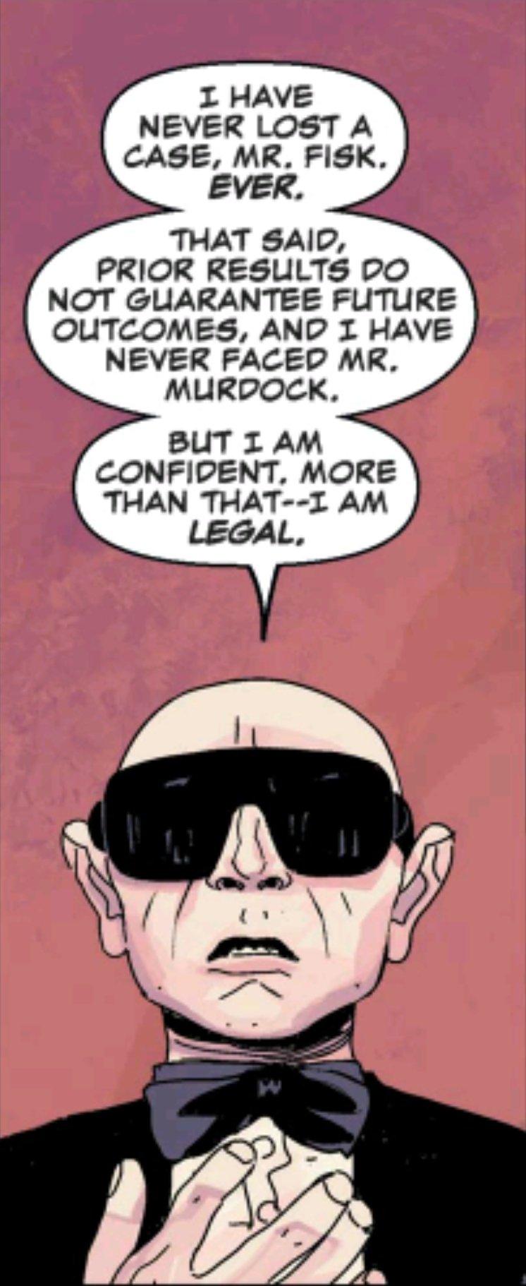 Legal, a big hot shot lawyer