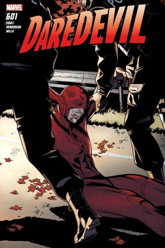 daredevil injured marvel cover