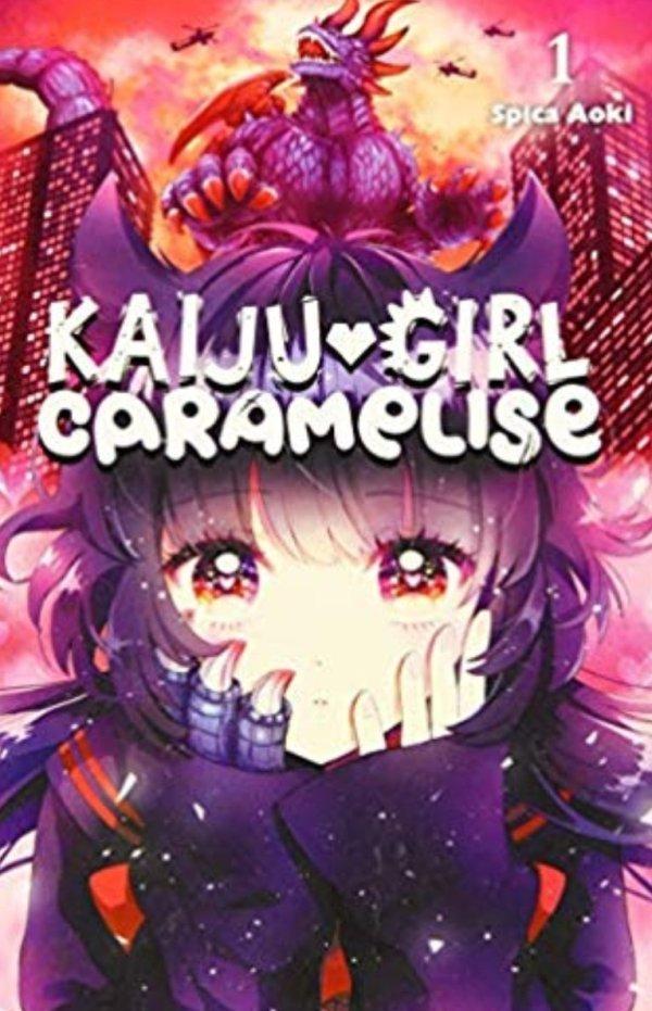 kaiju girl caramelise book 1 cover