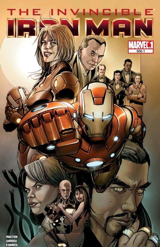 the invicible iron man comic book cover