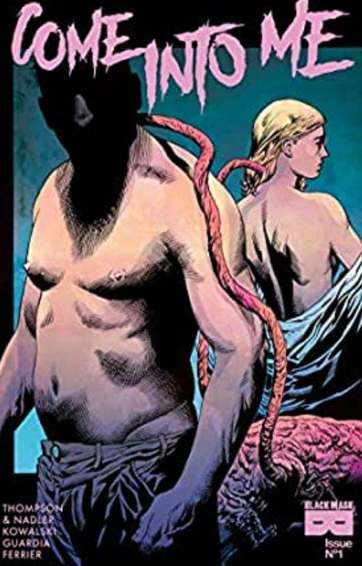 come into me comic book body horror