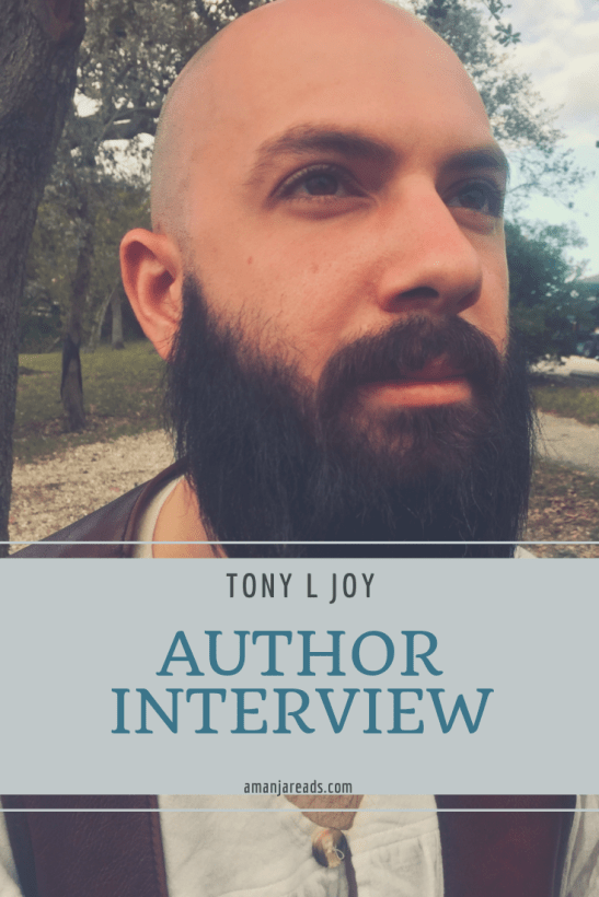 tony l joy author interview