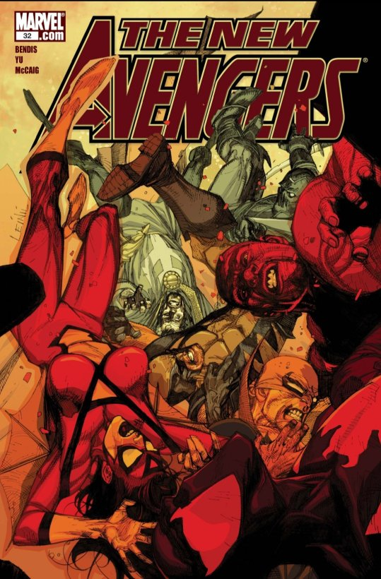 the new avengers spider woman cover