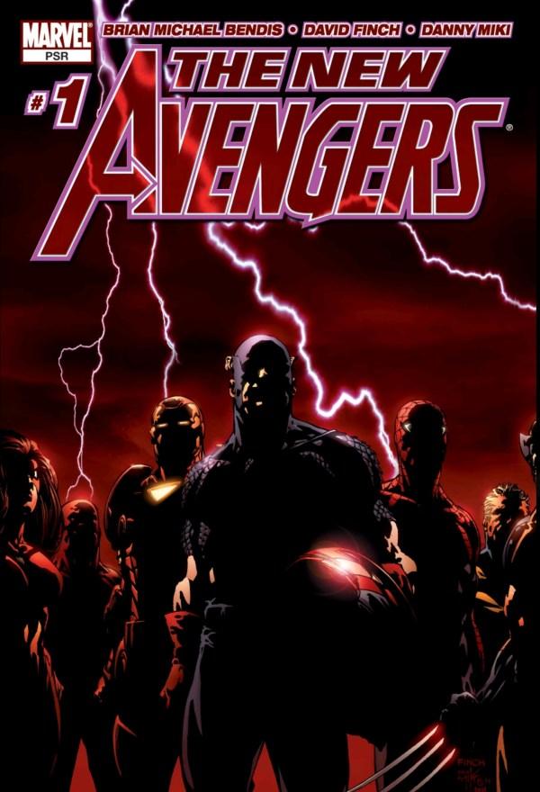 new avengers volume one cover