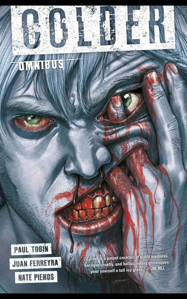 colder omnibus horror graphic novel