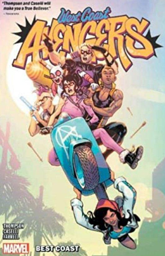 west coast avengers marvel comics cover