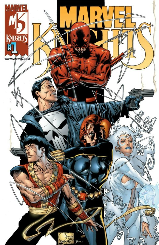 marvel knights comic book cover