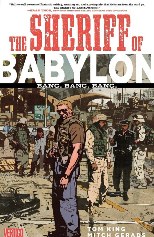 the sheriff of babylon graphic novel