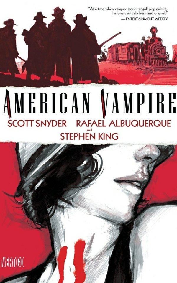 american vampire horror graphic novel cover