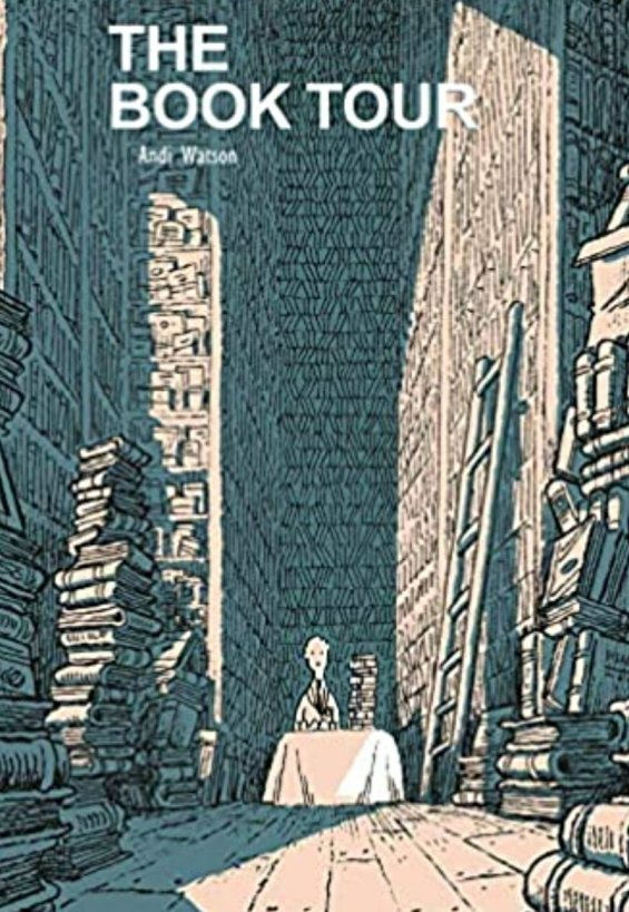 the book tour graphic novel cover