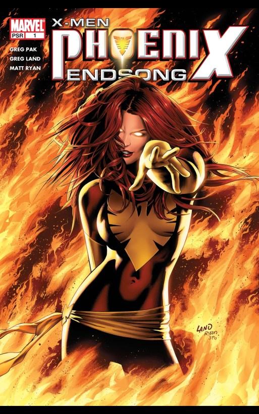 phoenix endson xmen comics cover