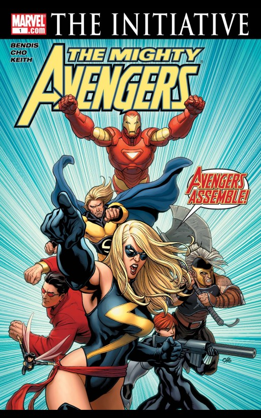 the mighty avengers marvel comics cover