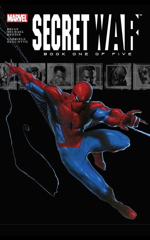 secret war marvel comics cover