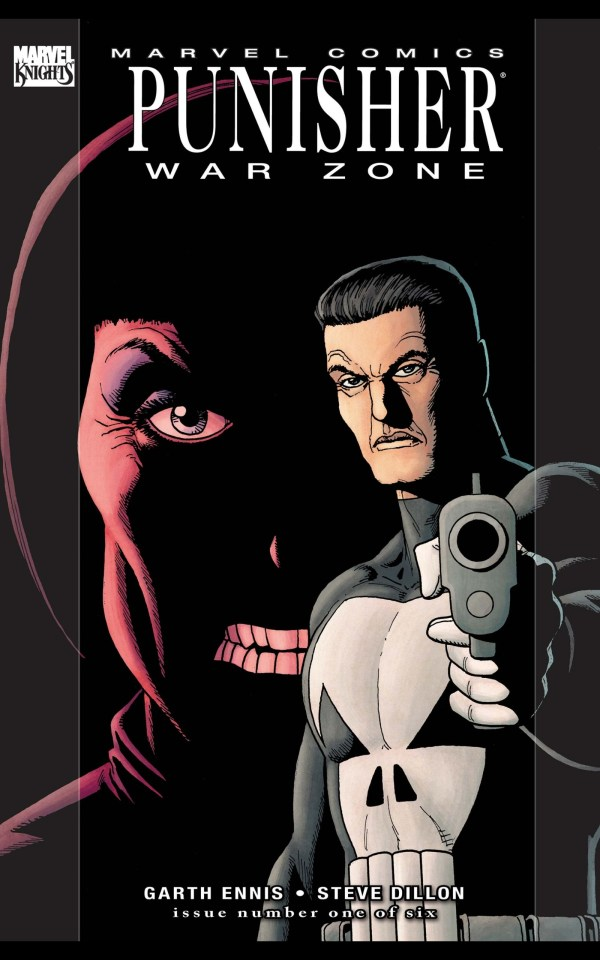 the punisher war zone marvel comic book
