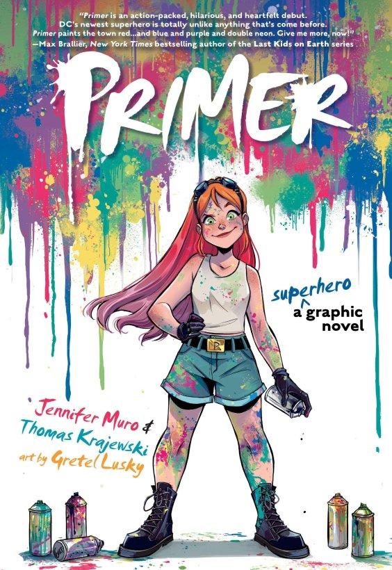 primer dc young adult graphic novel
