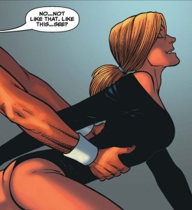 the sentry's wife getting ready to bone her yoga instructor