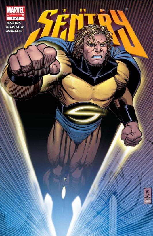 the sentry reborn comic book cover