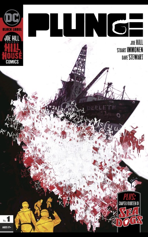 joe hill's plunge, cover