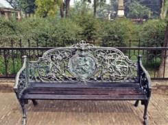 A lone seat