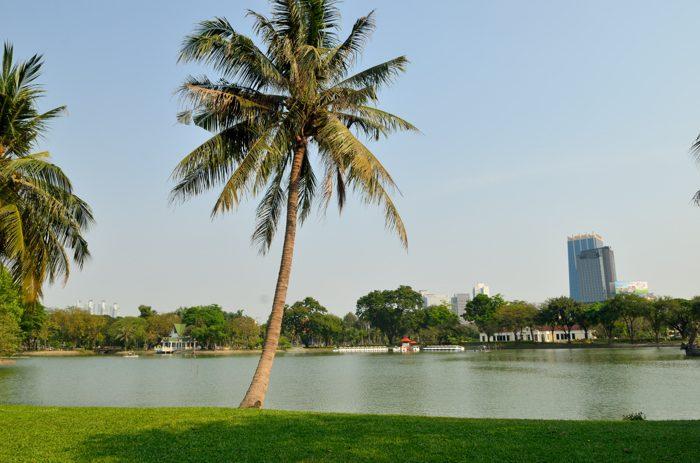 Le parc Lumphini à Bangkok