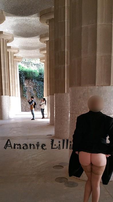 Park Güell, salle hypostyle aux 84 colonnes doriques. Prévu pour être la place du marché
