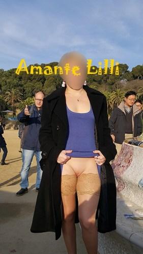 Au Park Güell, à Barcelone, MrSirban prend la photo et surveille les gens derrière moi
