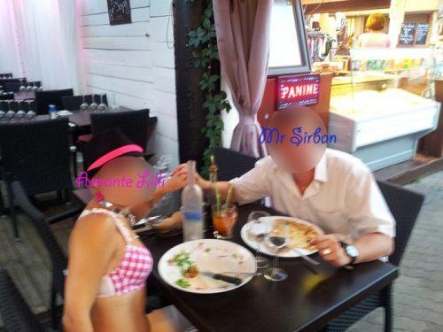 MrSirban et Amante Lilli à la Loco au Cap d'Agde
