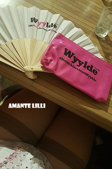 Des goodies offerts par Wyylde