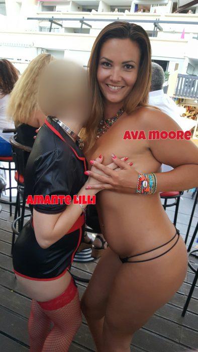 Amante Lilli et Ava Moore au Waiki