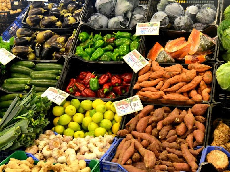 Mercado da Graça, em Ponta Delgada.