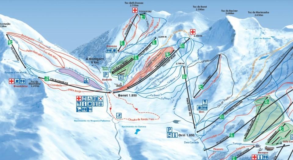 Pistas de Ski de Baqueira- Beret
