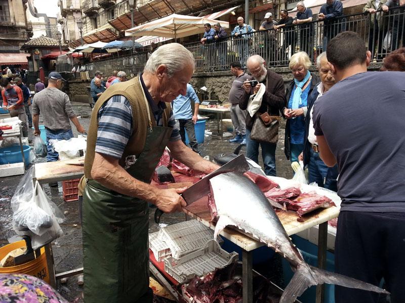 Sicilia - Mercato del pesce