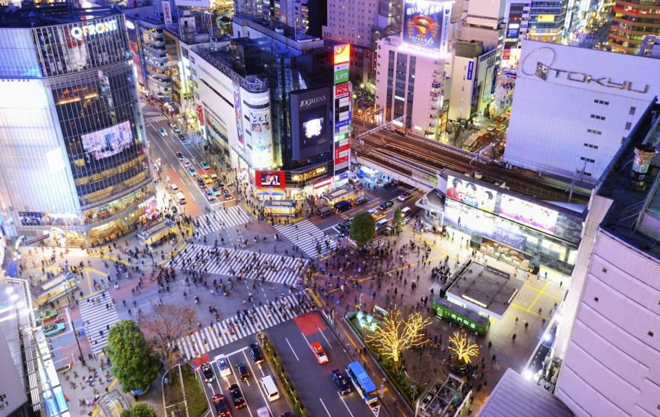 Cidades na Ásia