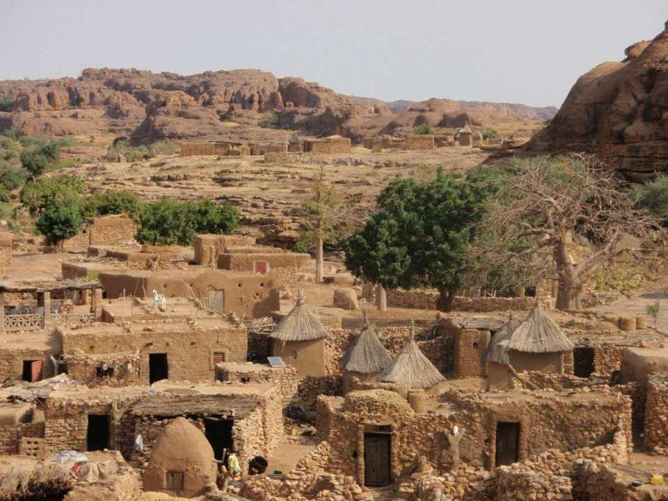 Aldeia no Mali