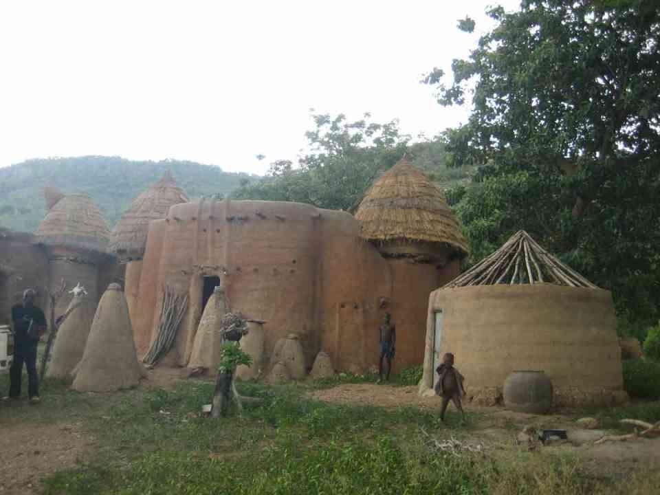 Aldeia no Togo