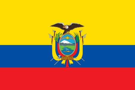 Bandeira do Equador