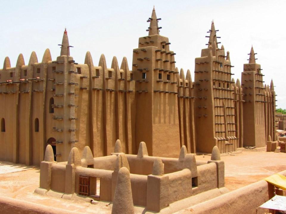 Mesquita Komboro - Djenne - Burkina Faso