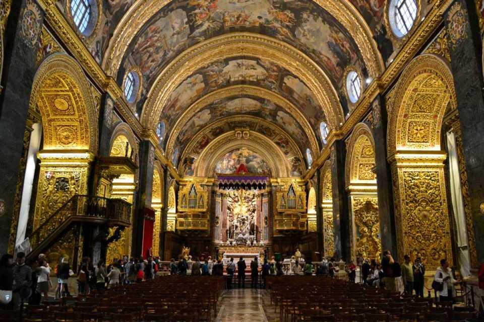 Catedral em La Valletta