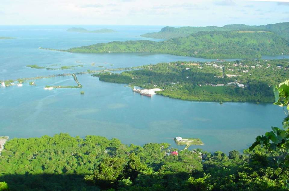 Ilha de Kolonia - Micronésia