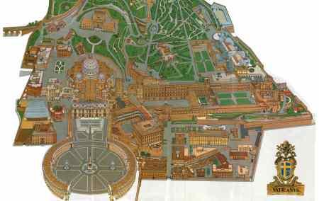 Mapa do Vaticano