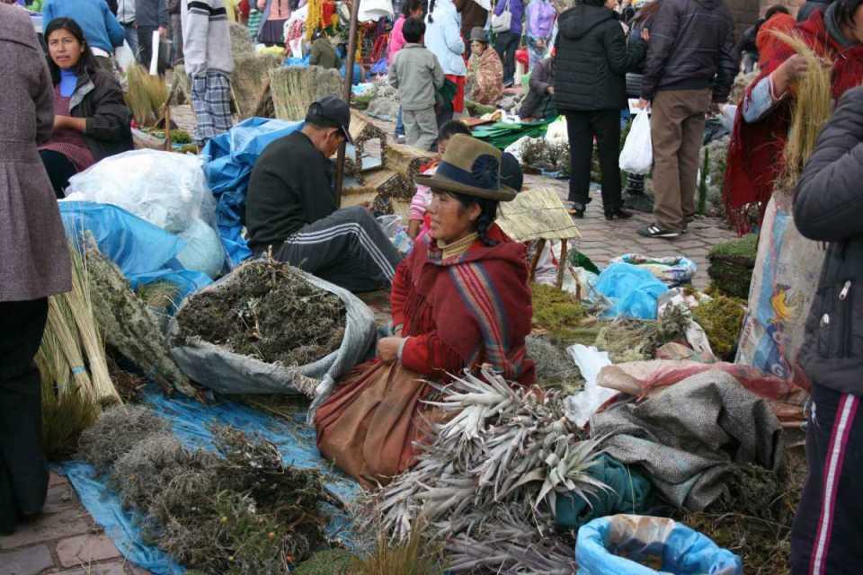 Mercado em Cuzco- Peru