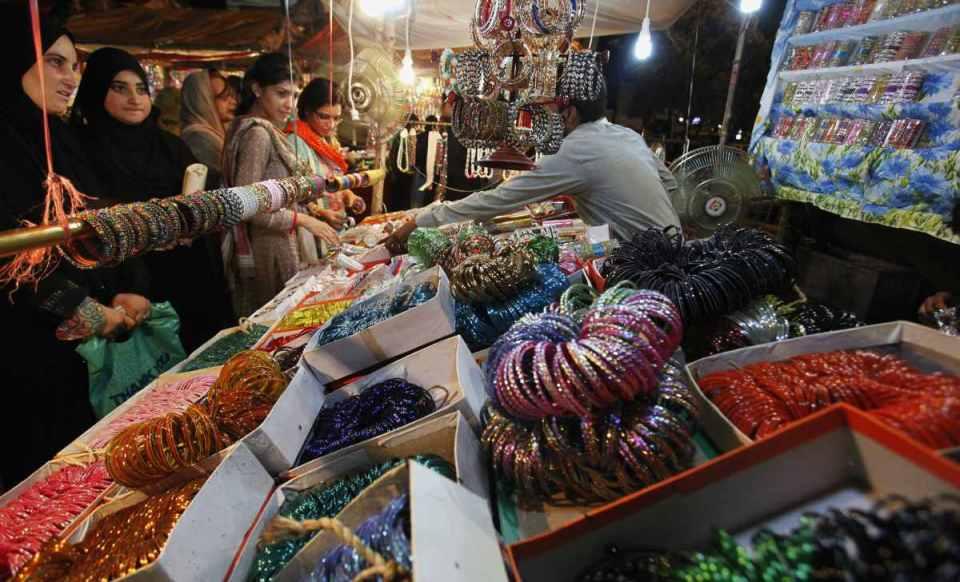 Mercado em Riade