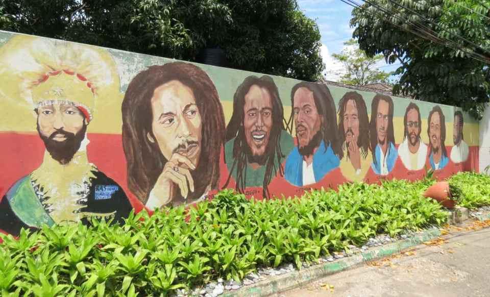 Muro do Museu Bob Marley